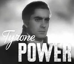 Tyrone Power Quotes, Quotations, Sayings, Remarks and Thoughts