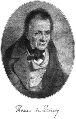 Thomas de Quincey Quotes, Quotations, Sayings, Remarks and Thoughts