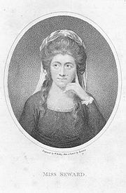 Anna Seward Quotes, Quotations, Sayings, Remarks and Thoughts