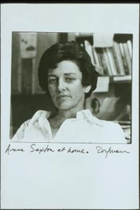 Anne Sexton Quotes, Quotations, Sayings, Remarks and Thoughts