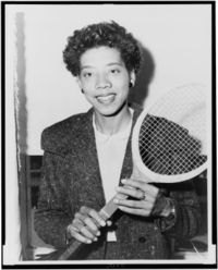 Althea Gibson Quotes, Quotations, Sayings, Remarks and Thoughts