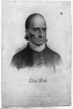 Elias Hicks Quotes, Quotations, Sayings, Remarks and Thoughts