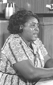 Fannie Lou Hamer Quotes, Quotations, Sayings, Remarks and Thoughts