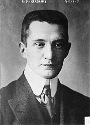 Alexander Kerensky Quotes, Quotations, Sayings, Remarks and Thoughts